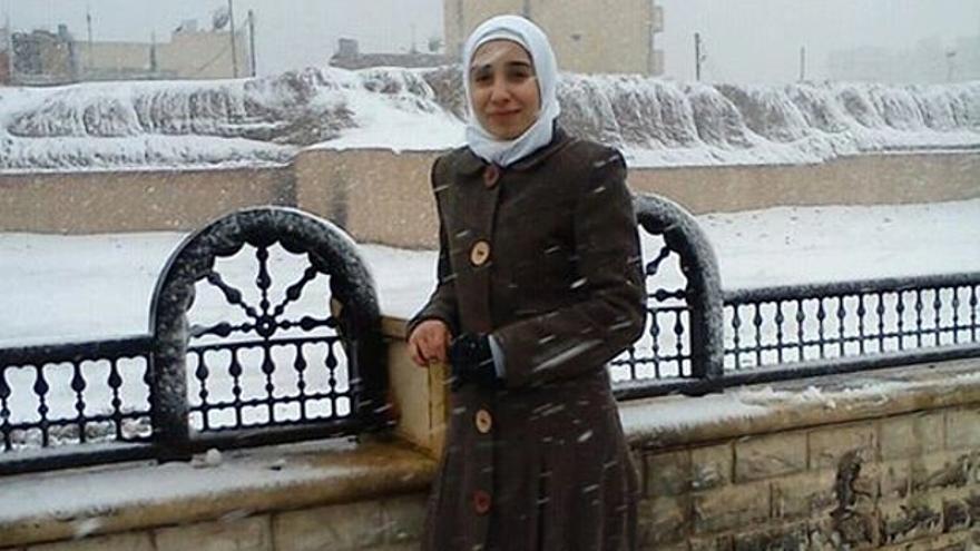 Ruqia Hassan, que fue asesinada en septiembre de 2015, en una imagen publicada en su página de Facebook