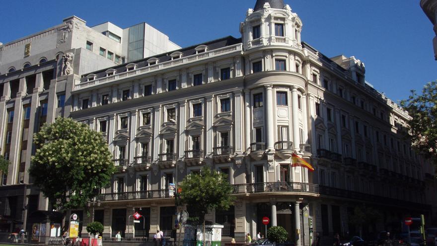 La sede de la calle Alcalá (Madrid) de la CNMC