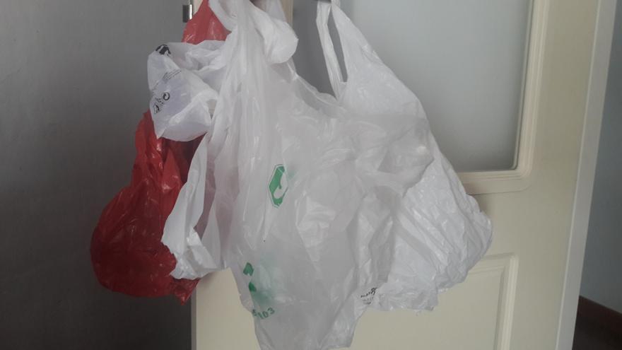 Bolsas de plástico.