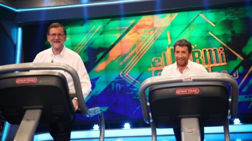 Mariano Rajoy en el Hormiguero / PP