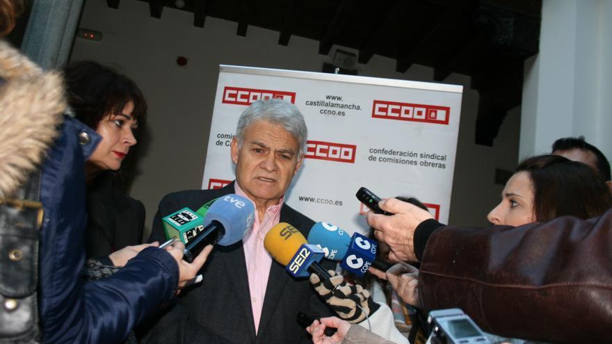 José Luis Gil, secretario regional en CLM de CCOO / Francisca Bravo