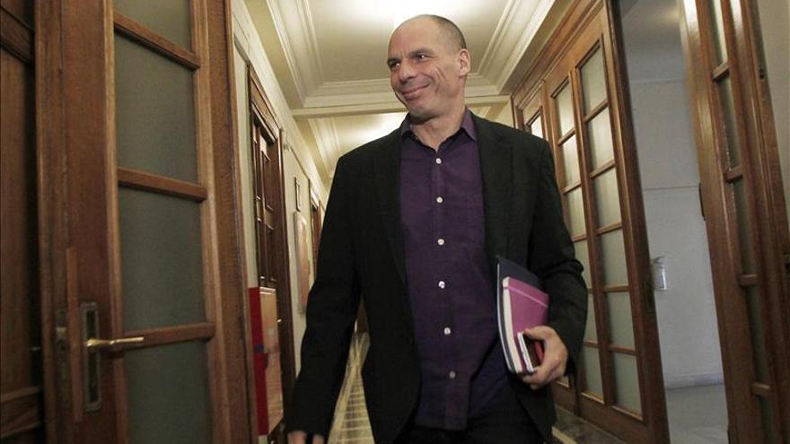 El ministro griego de Finanzas, Yanis Varoufakis. / Efe