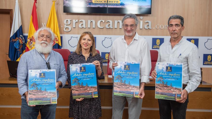 Presentación del catálogo inicial de árboles y arboledas singulares de Gran Canaria