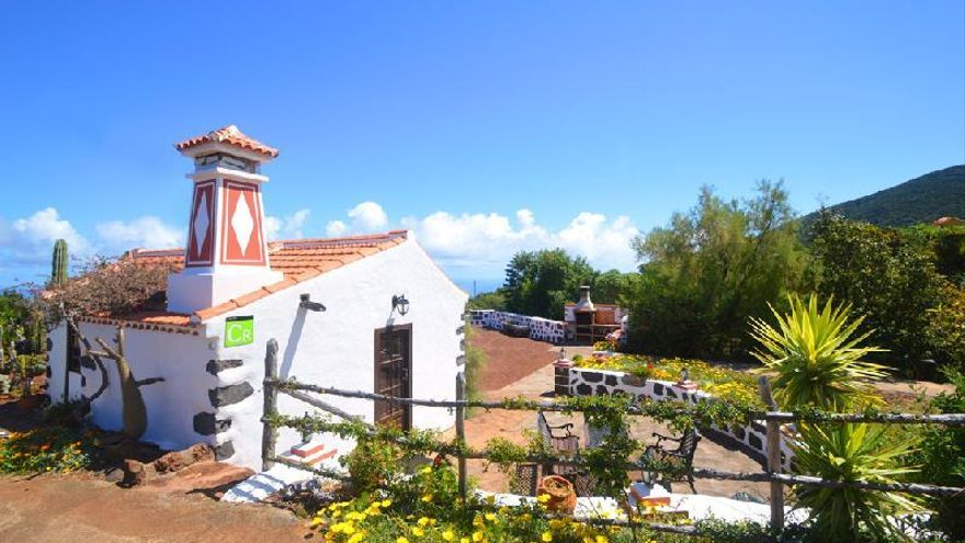 Imagen de archivo de la casa El Jaral de turismo rural, en Garafía. Foto: Asociación de Turismo Rural Isla Bonita