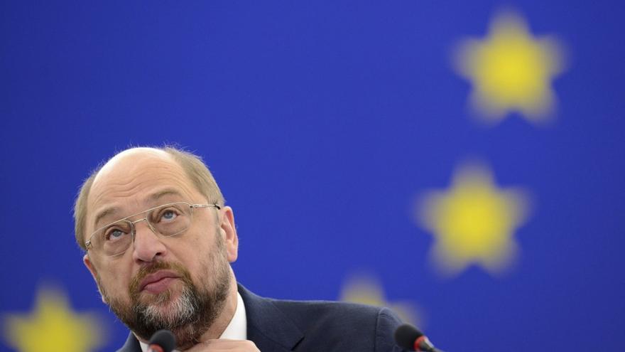 El presidente del Parlamento Europeo, el socialdemócrata alemán Martin Schultz
