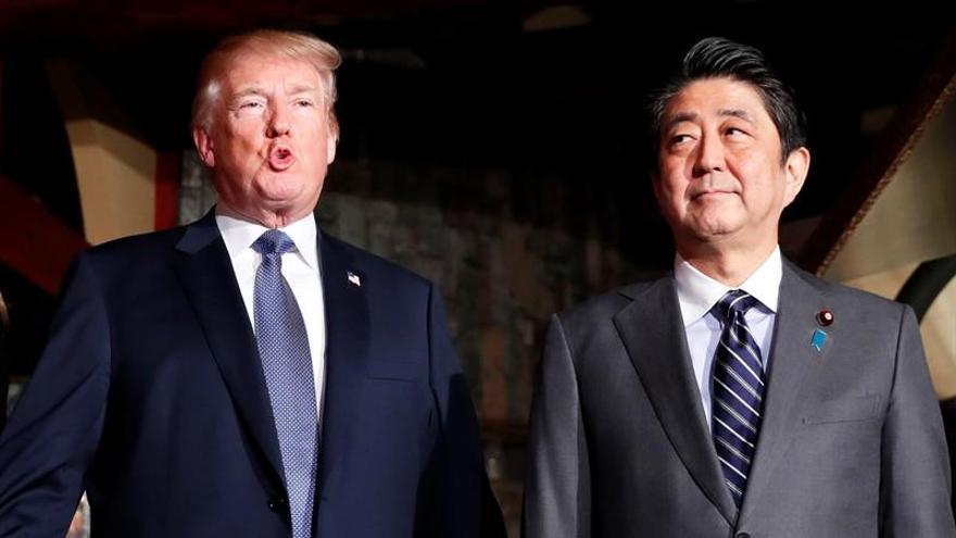 Trump apuesta por un nuevo tratado de comercio con Japón más justo