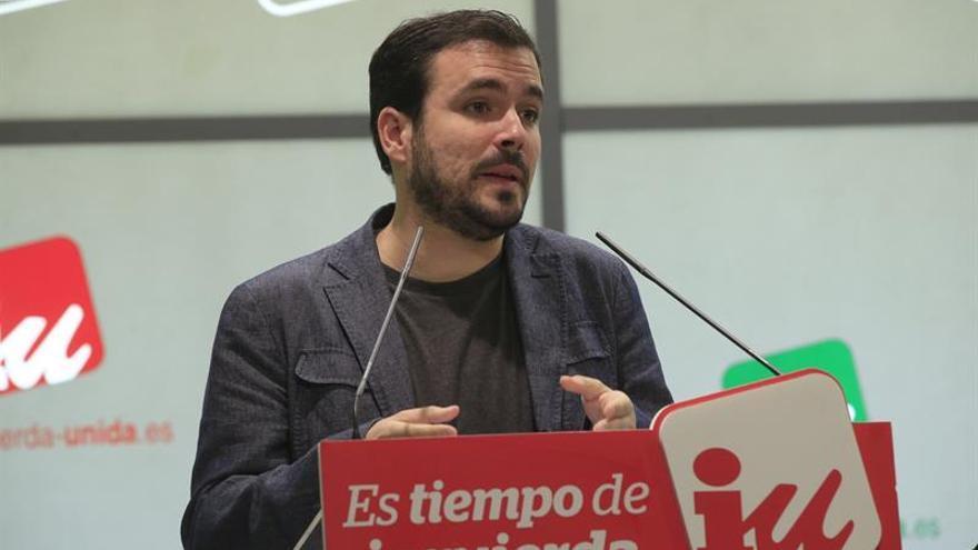 """Garzón no apoyará un Gobierno con C's porque sería """"exactamente igual"""" que con el PP"""