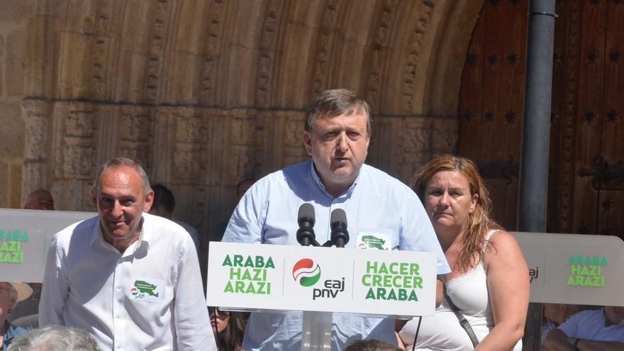 """PNV cree que la pérdida de la Alcaldía de Vitoria """"está aún en la mente de los populares"""" y eso dificulta un acuerdo"""