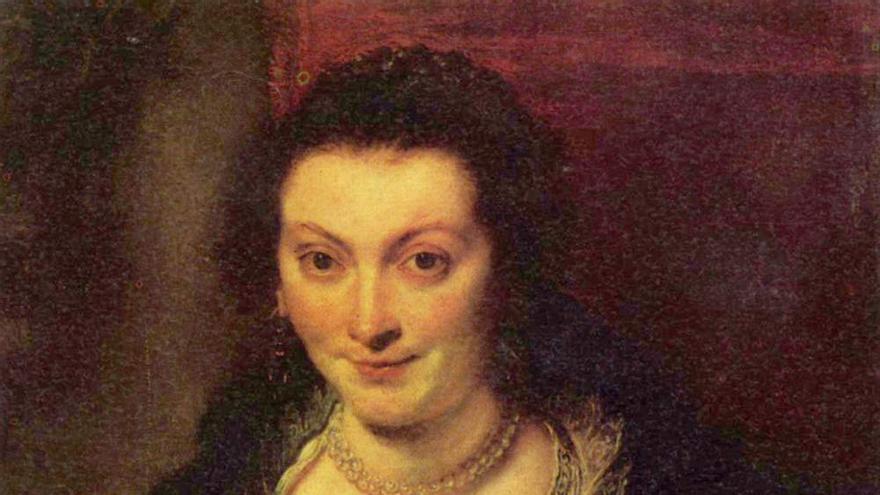 Isabella Brant, primera mujer del pintor Peter Paul Rubens