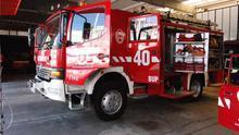 Imagen de archivo de un camión de Bomberos de Tenerife