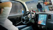 La conducción autónoma permitirá que el parabrisas se convierta en una pantalla gigante.