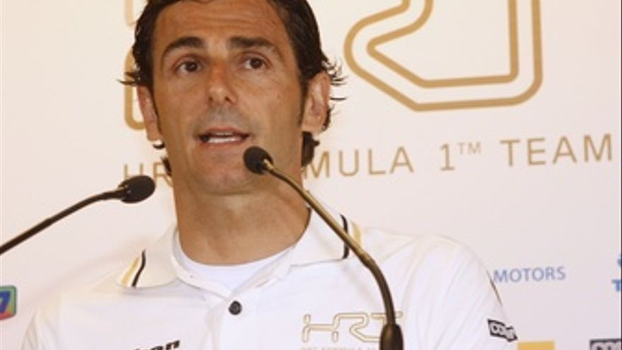 Pedro Martinez De La Rosa HRT Formula 1 Team