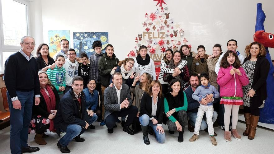 La alcaldesa y miembros de la Corporación felicitan las fiestas en centros asistenciales y residencias
