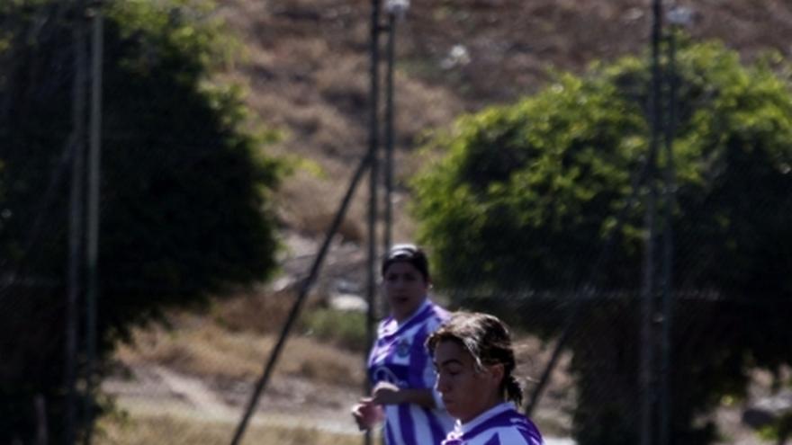 Del partido de la UD Las Palmas y Real Valladolid de la Liga femenina #4