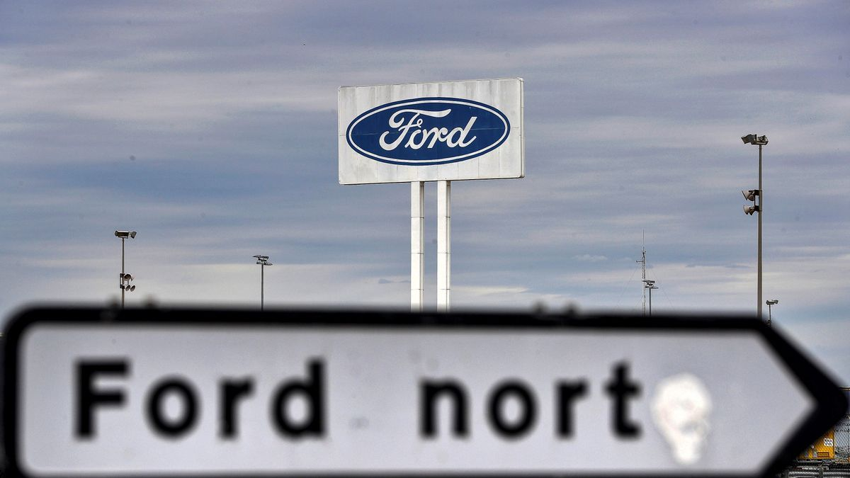 Imagen de la planta de Ford en Almussafes (Valencia). EFE/Kai Försterling/Archivo