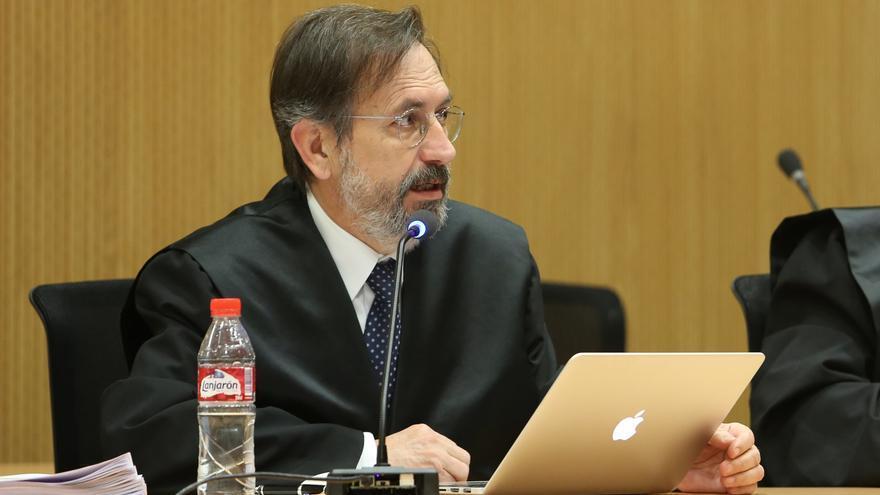 Manuel Matamoros, abogado de Luis Lleó. (ALEJANDRO RAMOS)