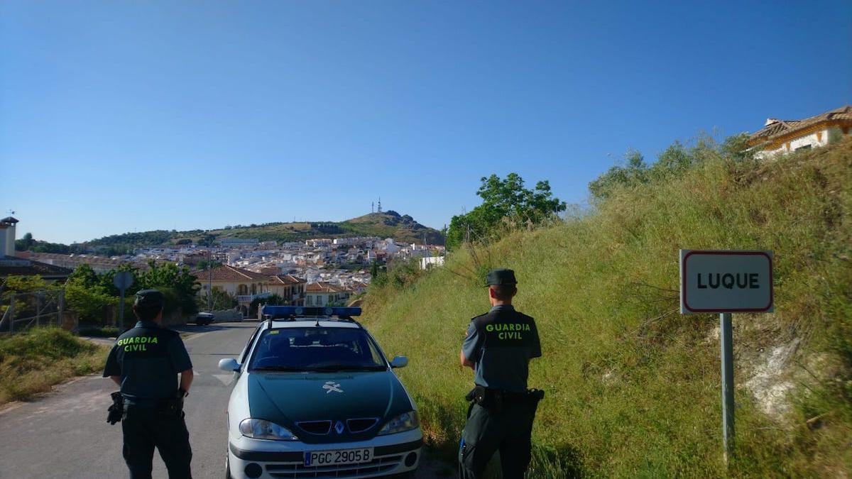 Guardia Civil del puesto de Luque.
