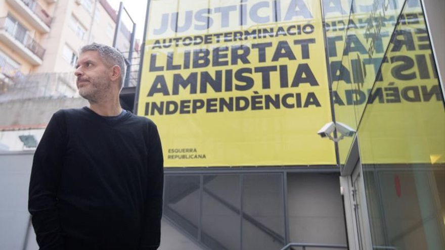 El abogado de Junqueras, Andreu Van den Eynde