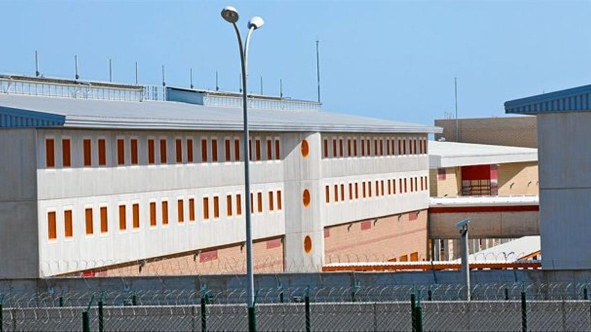 Uno de los módulos del Centro Penitenciario Las Palmas II