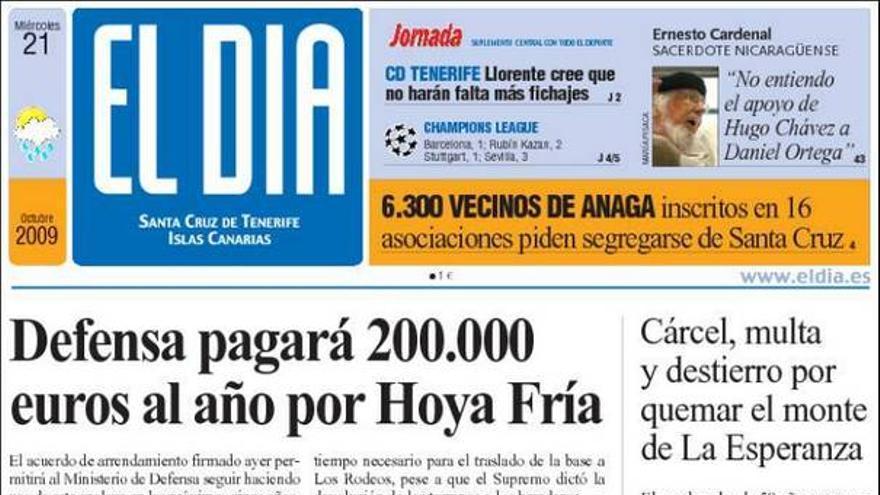 De las portadas del día (21/10/2009) #1