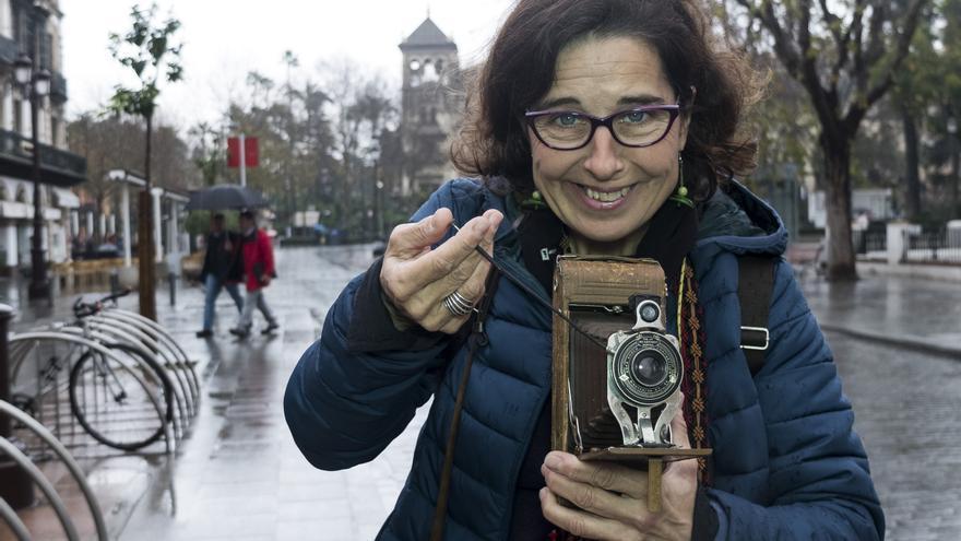 Anna Elías, fotógrafa de la Expo 92
