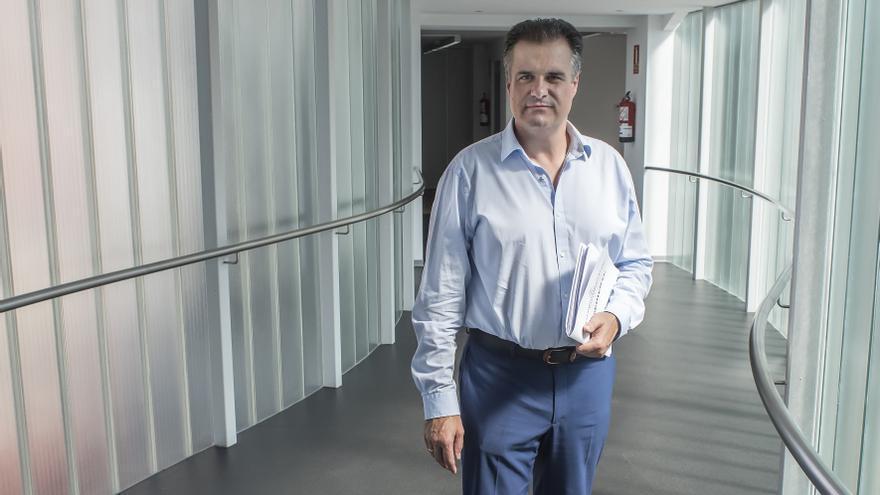 Francisco Ortíz (PRC), alcalde de Astillero. | JAVO DÍAZ