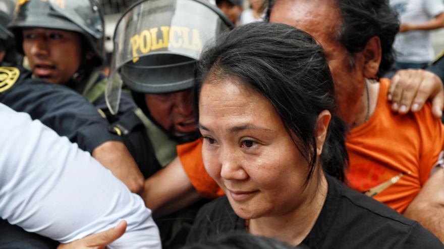 Fiscal pide medidas para que Keiko Fujimori deje de incitar al odio contra él