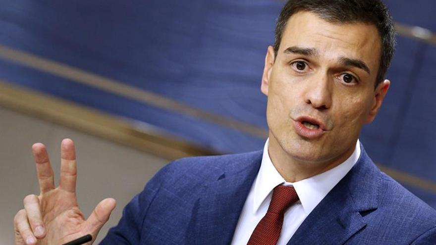 """Sánchez dice que las elecciones del 26J """"son un plebiscito sobre Rajoy"""""""