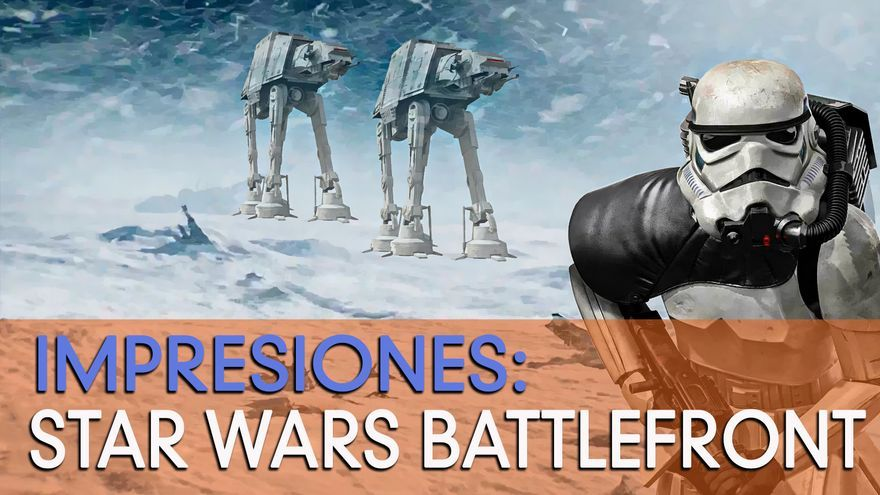 Vídeo Impresiones Star Wars: Battlefront