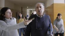 Enrique Álvarez Conde, atendiendo a la prensa este miércoles en la URJC. Foto: Olmo Calvo.
