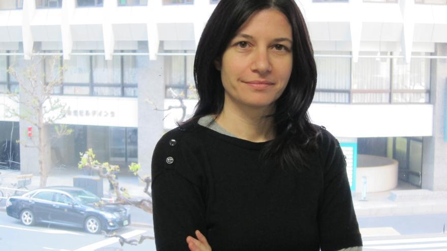 La redactora jefa de la Revista 5W, Maribel Izcue.