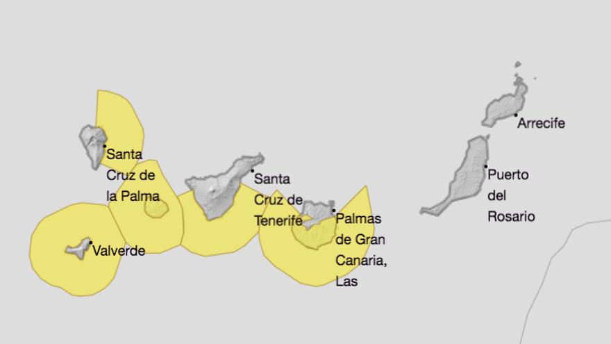 Aviso de riesgo por oleaje en el este de La Palma