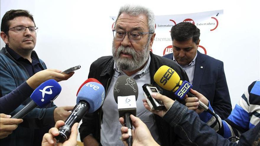 El secretario general de UGT, Cándido Méndez. EFE