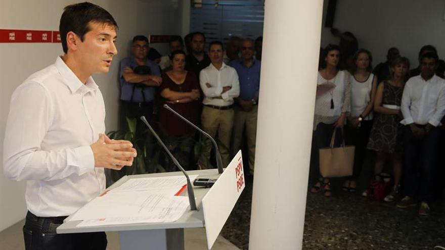 Rafa García: Me presento a reforzar el PSPV y el Consell, no a quebrarlo