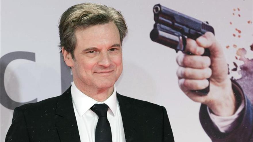 """Colin Firth pasa a la acción en """"Kingsman"""", versión irreverente de James Bond"""