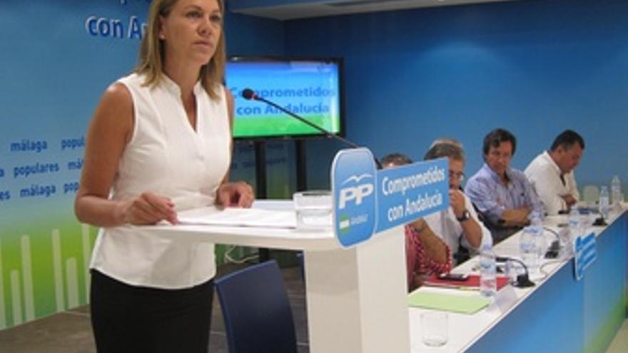 María Dolores de Cospedal preside la reunión del Comité de Dirección del PP-A