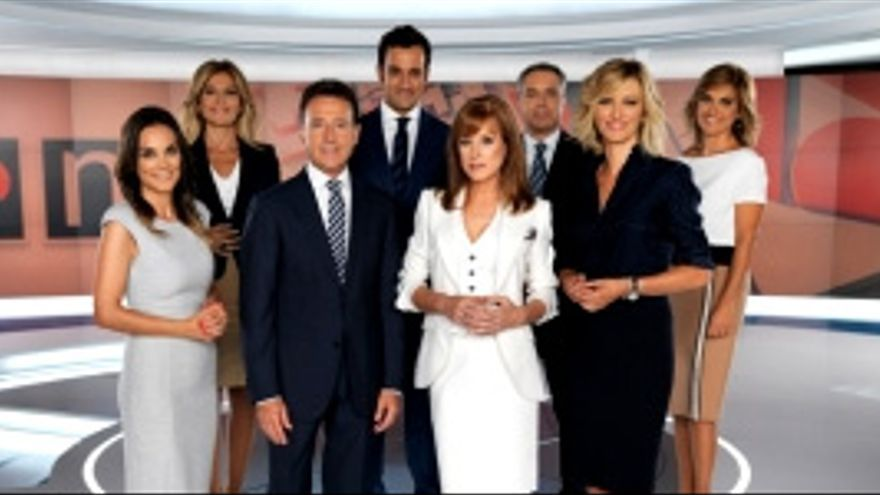 Baile de caras por sorpresa en informativos de Antena 3: Matías Prats al fin de semana