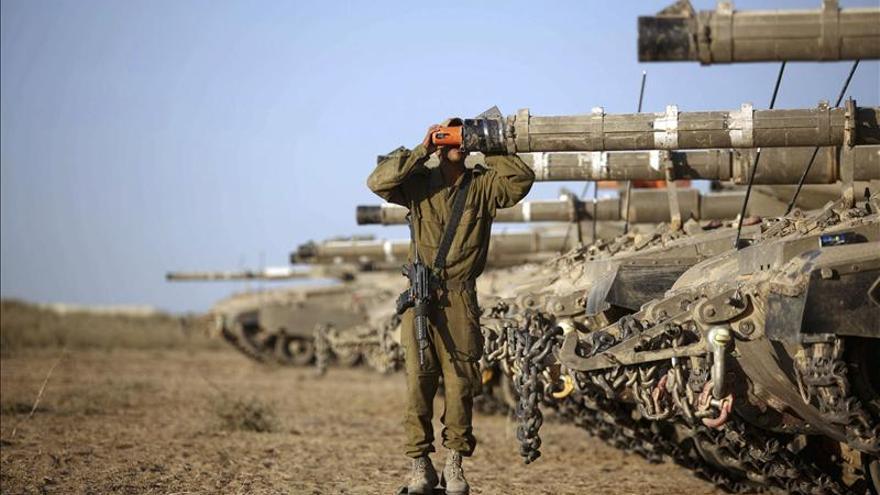 Milicias palestinas lanzan dos cohetes al terminar la tregua con Israel