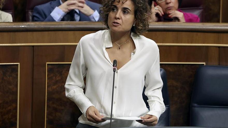 """Montserrat reprocha a los independentistas que el 1-O es """"una excusa"""" para romper España"""