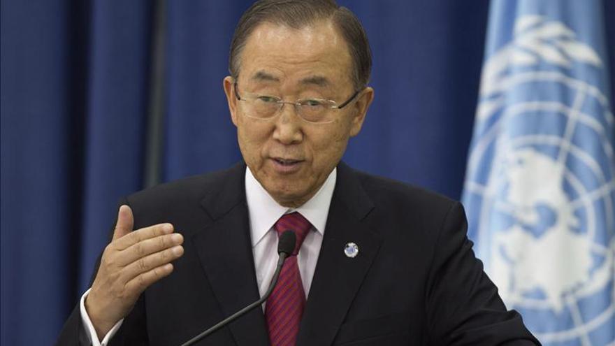 Ban Ki-moon pide evitar una escalada de tensión en Cisjordania