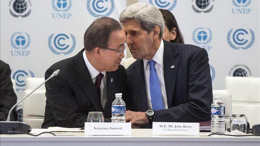 Ban pide el apoyo de las empresas al combate contra el cambio climático