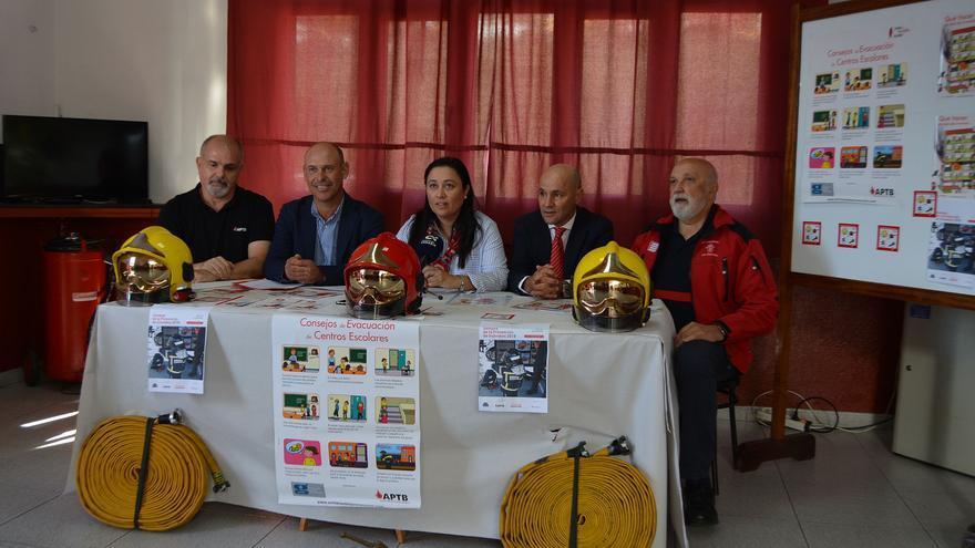 Presentación de la XIII Semana de Prevención de Incendios este lunes.