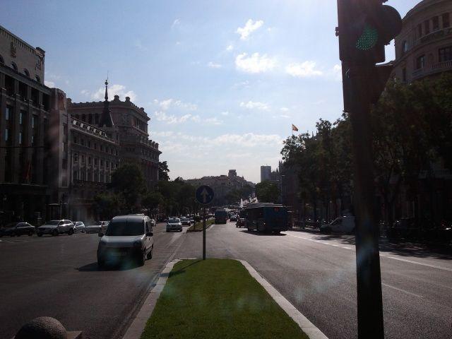 3. Avenida en Madrid