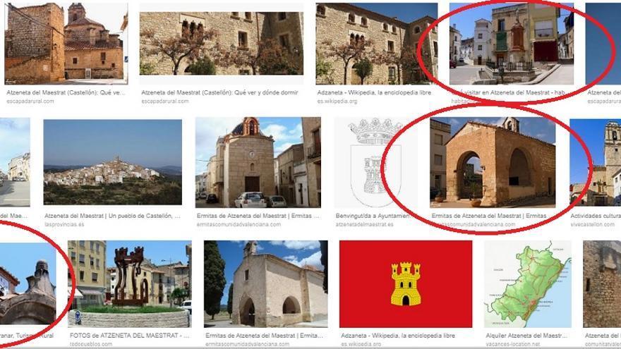 Resultado de las imágenes de la búsqueda de Atzeneta del Maestrat en Google