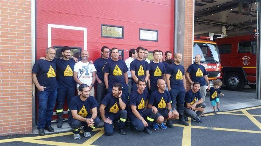 Los bomberos de Guadalajara siguen de huelga