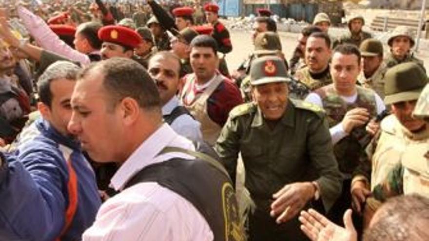 Protestas en El Cairo. (EUROPA PRESS)
