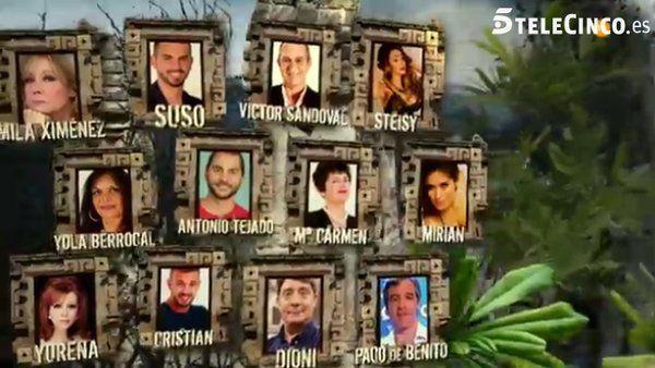 participantes de Supervivientes 2016 - 3