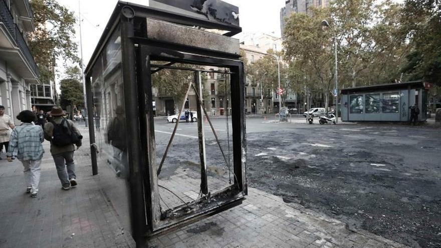 El núcleo duro de los disturbios en Cataluña: 500 radicales con apoyo exterior