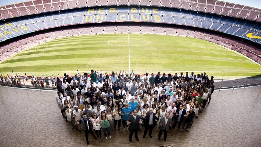 empleados FC Barcelona