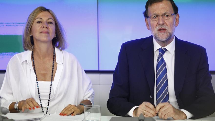 """'Génova' pide a sus cargos subrayar la """"guerra"""" PSOE-Podemos: """"España necesita a Rajoy, no ese juego de tronos"""""""